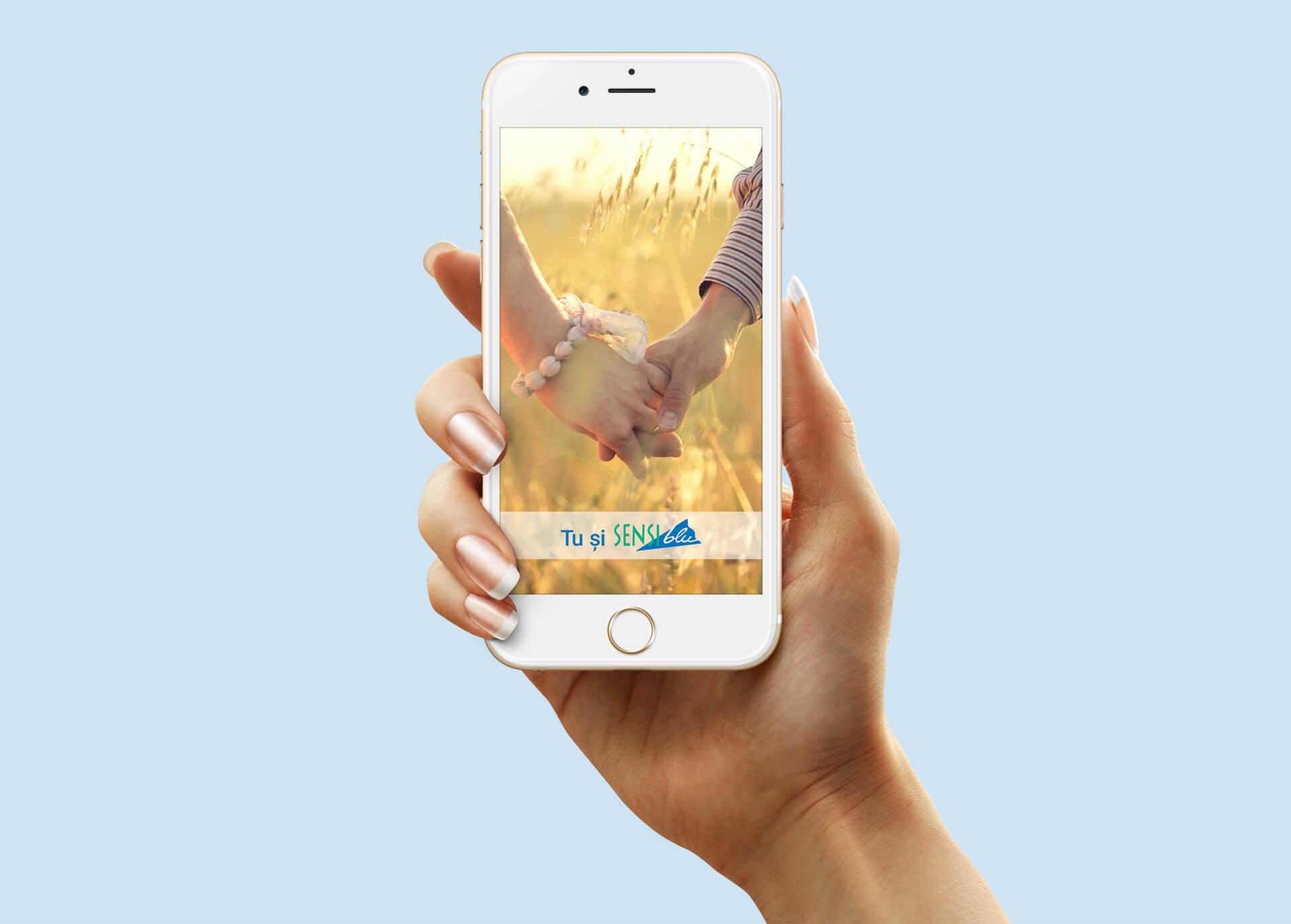 01 Mockup Sensiblu app