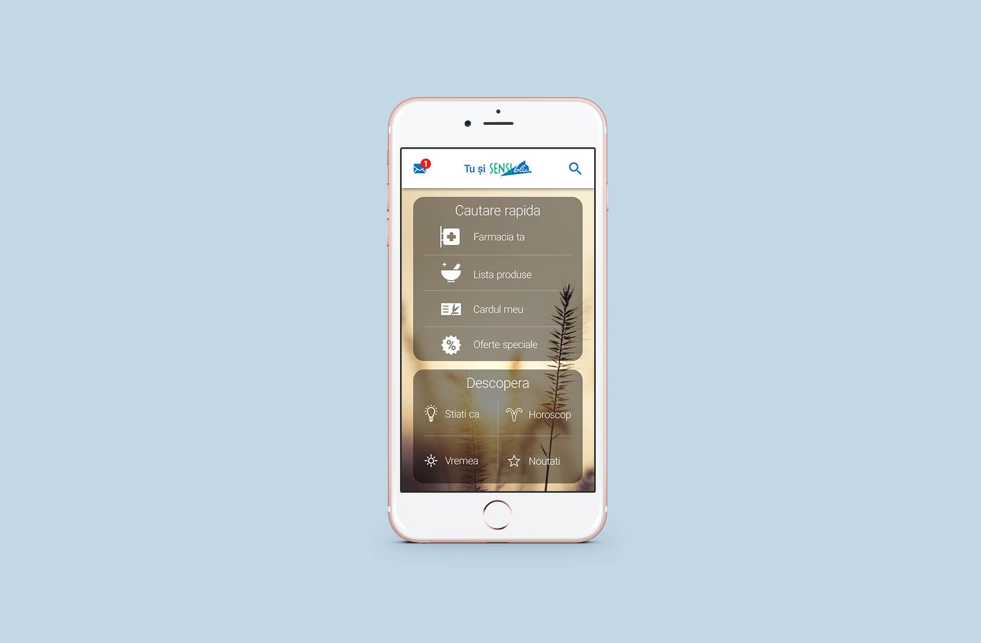 03 Mockup Sensiblu app