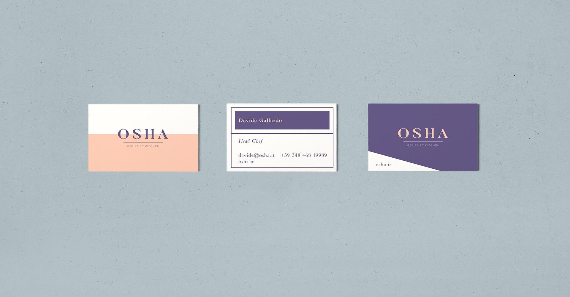 01 Osha Mockups carti de vizita