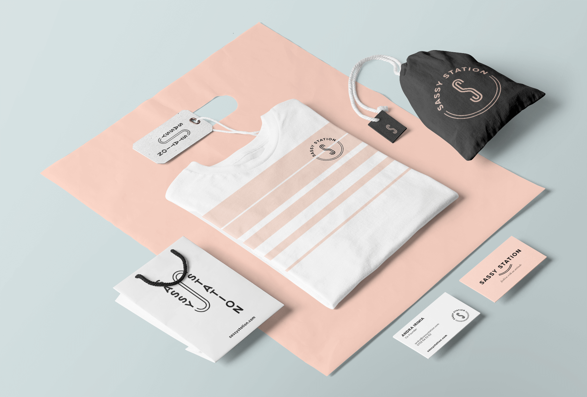 10 Stationery mockup Sassy Station